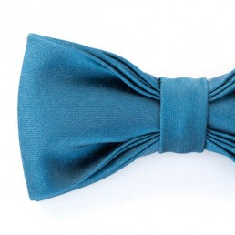 Blauwe vlinderdas / strik van Mc Rogers genaamd Salvatore. Belgisch, handgemaakt in Gent en uiterst stijlvol.